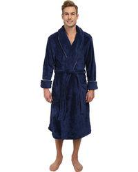 Tommy Bahama Paradise Bound Plush Robe - Blue