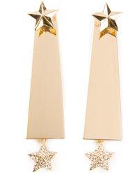 Luxury Fashion Star Earrings - Lyst
