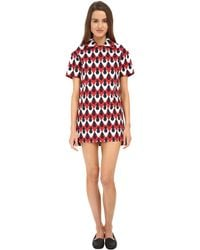 DSquared² Serrures Polo Dress - Lyst