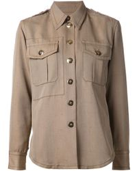 Marc Jacobs Military Shirt - Lyst
