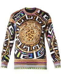 Versace Yellow Psychedelicprint Sweatshirt - Lyst