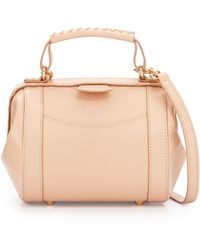 SJP by Sarah Jessica Parker - Waverly Leather Satchel Bag - Lyst