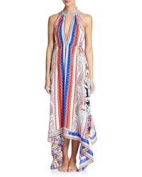 Etro Hawaiian Floral Silk Dress - Lyst