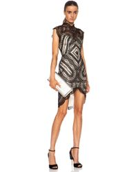 Lover Venus Fitted Viscose-blend Dress - Lyst