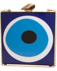 Kotur Evil Eye Square Box Clutch - Lyst