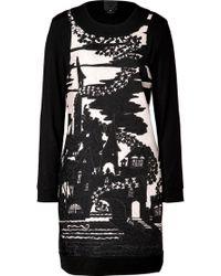 Anna Sui Jacquard Dress - Lyst