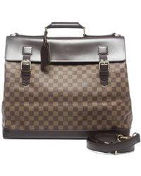 Louis Vuitton Pre-owned Damier Ebene West End Travel Bag - Lyst