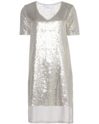 Velvet Nala Sequin Dress - Lyst