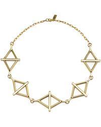 Pamela Love 14k Multibalance Collar Necklace - Lyst