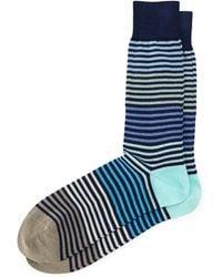 Paul Smith Pastel Multi Stripe Socks - Lyst