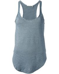 Etoile Isabel Marant Striped Tank Top - Lyst