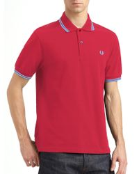 Fred Perry Slim-Fit Polo - Lyst
