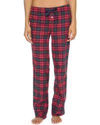 Three J Nyc Jamie Flannel Pyjama Set - Green