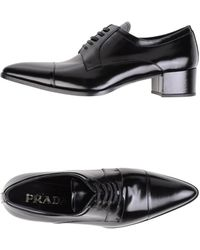 Prada Lace-Up Shoes - Lyst