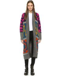 Tak.ori - Knit Cardigan - Multi - Lyst