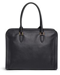 Alexander McQueen | 'padlock' Large Leather Tote | Lyst