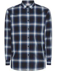 Saint Laurent Degrade Check Shirt - Lyst