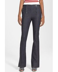 RED Valentino Flare Sailor Jeans - Lyst