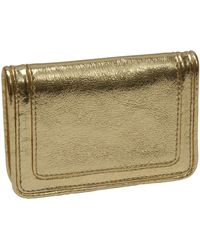 Tusk Jaipur Metallic Leather Gusseted Business Card Case