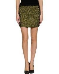 Edun Mini Skirt - Lyst