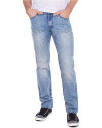 William Rast - Slim Straight Jeans - Lyst