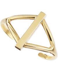 Pamela Love Golden Balance Cuff - Lyst