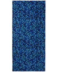 Paul Smith Mosaic-Print Cotton Loopback Towel - Lyst