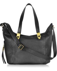 See By Chloé Andrea Black Grained Leather Handbag - Lyst