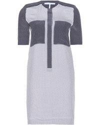 Victoria, Victoria Beckham Printed Silk-Crepe Dress - Lyst