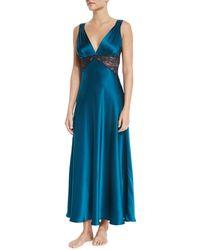 Christine - Bijoux Lace-trimmed Gown - Lyst