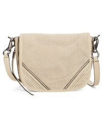 She + Lo Silver Linings Cross-Body Bag  - Natural