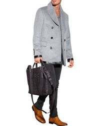 Maison Margiela Leather Tote Bag - Lyst