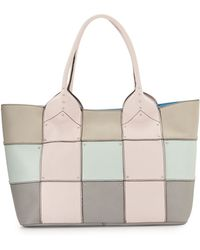 orYANY Summer Colorblock Patch Tote Bag pink - Lyst