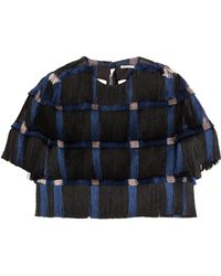 Marco De Vincenzo Fringed Top - Lyst