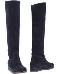 Daniela Fargion Boots - Blue