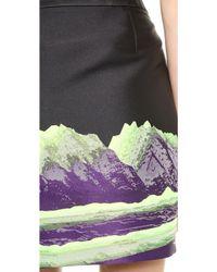 Alexander Wang Low Waisted Pencil Skirt  Cosmos - Lyst