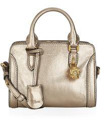 Alexander McQueen Mini Padlock Bag - Lyst