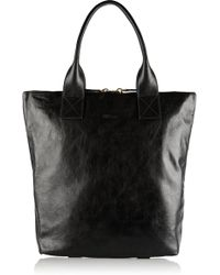 Alexander McQueen North South Leather Tote - Lyst