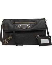 Balenciaga Metallic Edge Classic Envelope Clutch Bag - Lyst