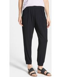 Eileen Fisher | Slouchy Ankle Pants | Lyst