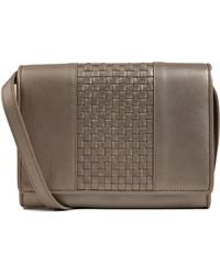 Cole Haan Brennan Leather Combo Crossbody Bag - Lyst