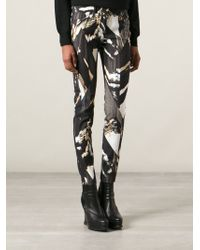 Kenzo 'Mountains' Skinny Jeans - Lyst