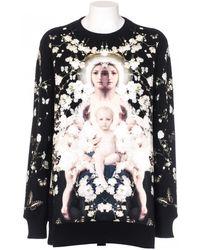 Givenchy Felpa Oversize Nera Stampa Madonna black - Lyst