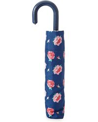 Forever 21 Floral Print Umbrella - Blue