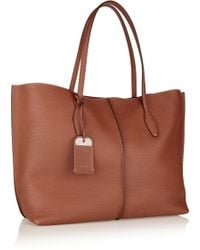 Tod's Shopping Medium Leather Tote - Lyst