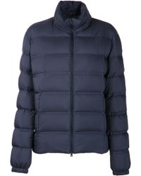 Herno Blue Padded Jacket - Lyst