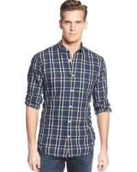 Tommy Hilfiger Clean Plaid Oxford Shirt - Lyst