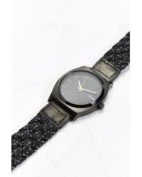 Nixon Time Teller Reflective Watch - Lyst