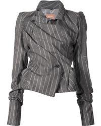Vivienne Westwood Gold Label | Pinstripe Blazer | Lyst