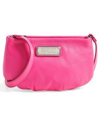 Marc By Marc Jacobs 'New Q - Percy' Leather Crossbody Bag - Lyst